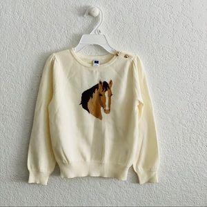 Janie and Jack Carriage House Sweater Sz 5 NWTs